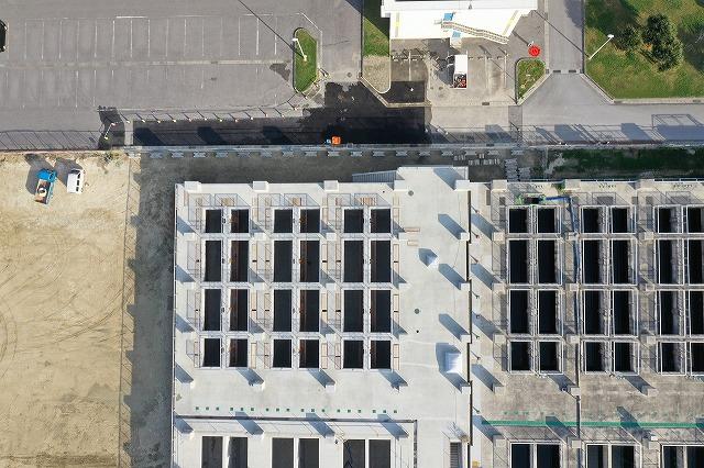 宜野湾浄化センター最終沈殿池築造工事(2工区)写真2